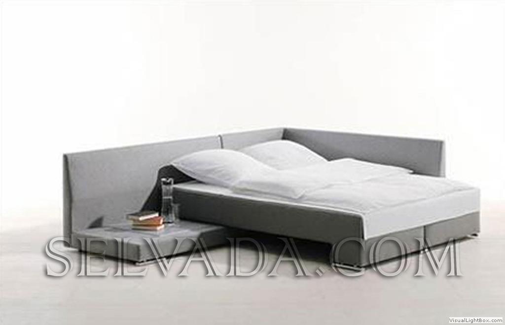 Диван-кровать трансформер актуален для спальни, имеющей небольшие размеры. . Поскольку большинство квартир не